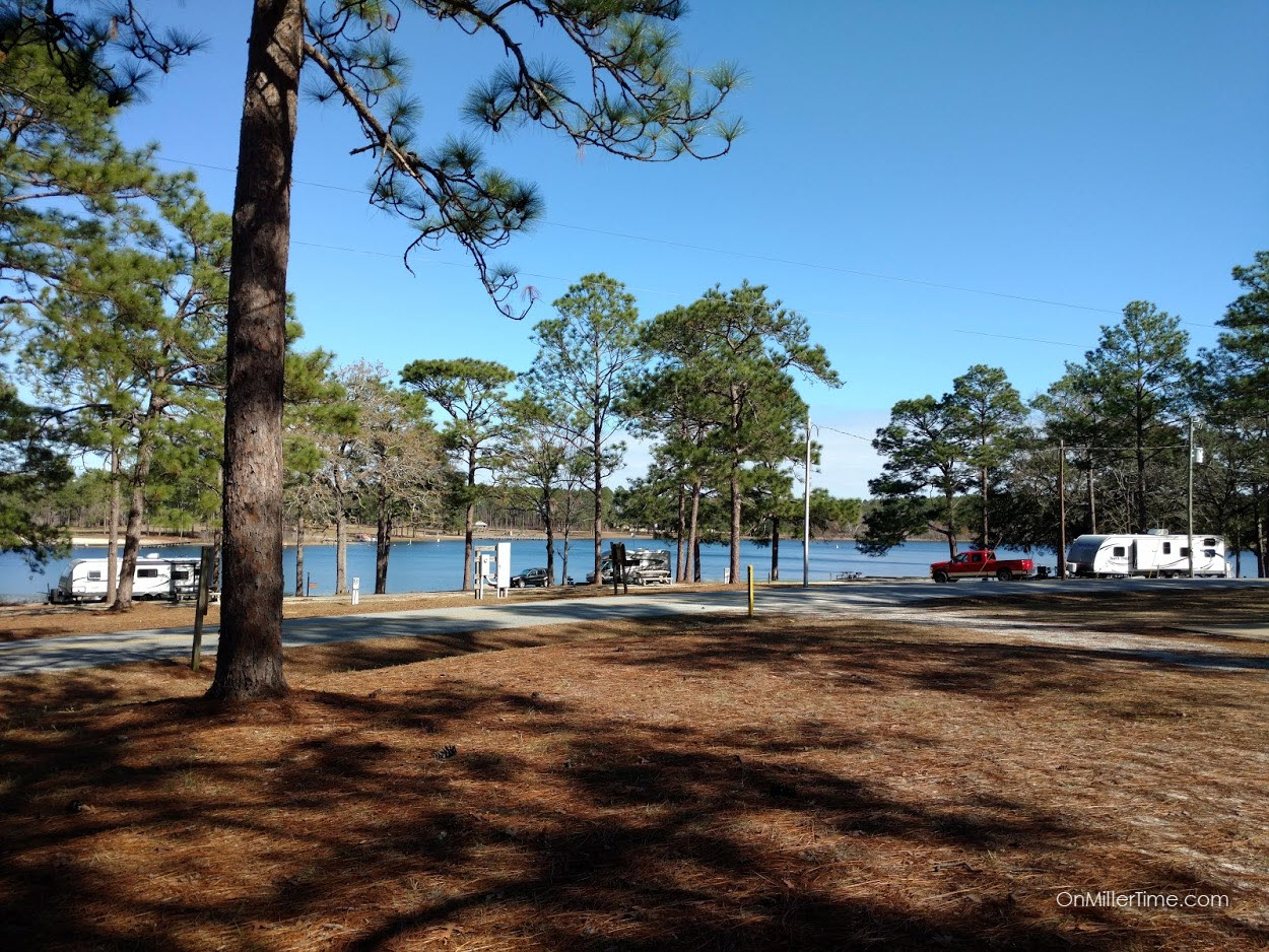 Camping at Seminole State Park
