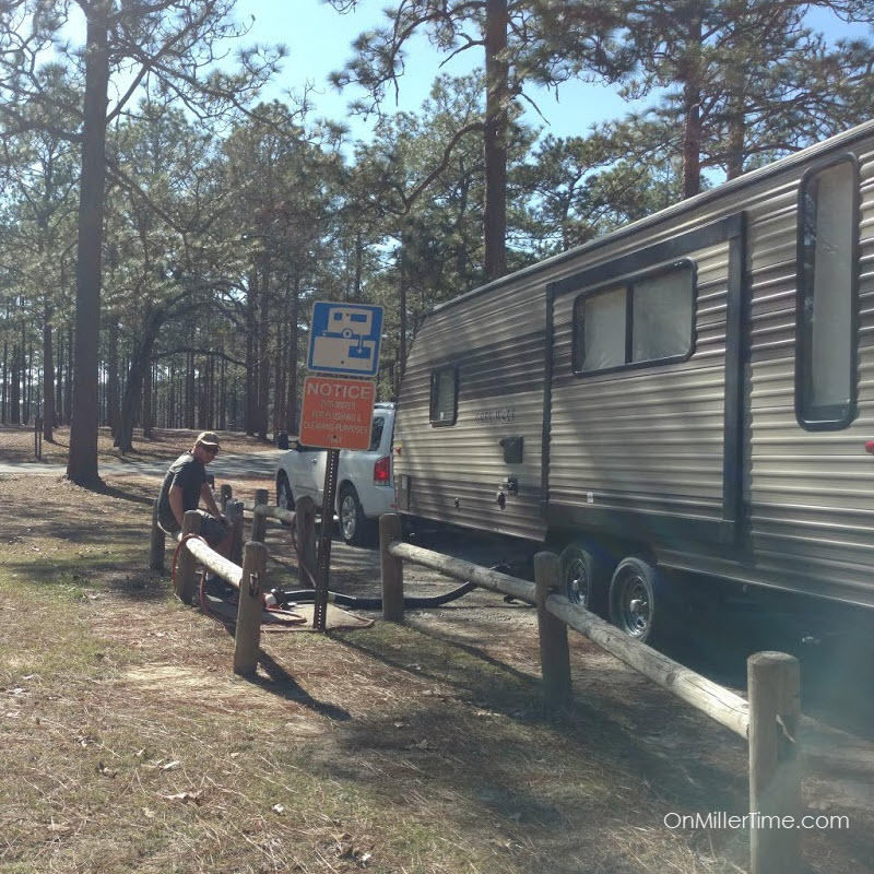 Camping at Seminole State Park